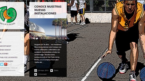 Captura website